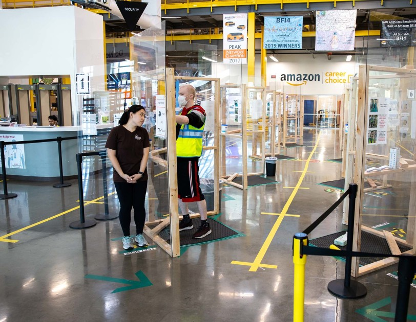 Как Amazon перенастроил процессы магазинов и канала доставки