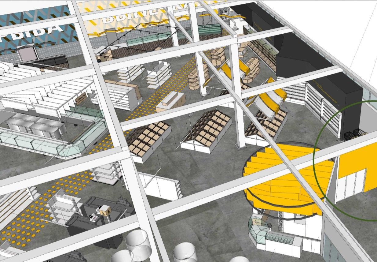 Открытие супермаркета Спутник в концепции 2.0