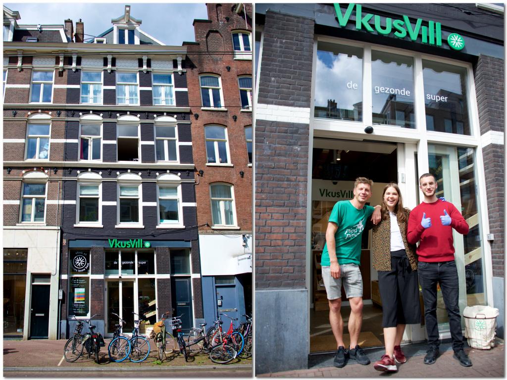 VkusVill in Amsterdam!