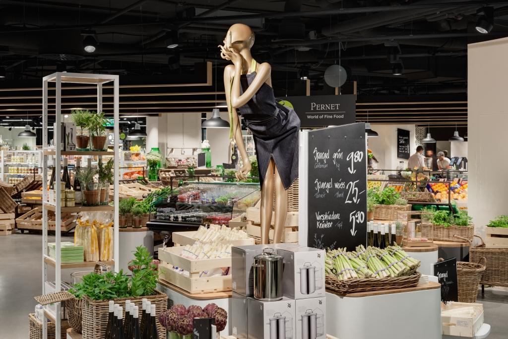 Создание розничного театра. Foodhalls создает Retail Theater